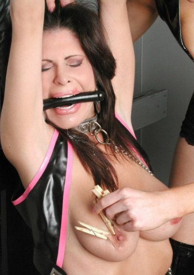 Ashley Renee Disciplined by a Cruel Blond Mistress