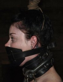 Cute Young Amateur Restrained and Dominated in Dungeon