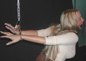 Hot Girlfriend Gets Restrained and Gagged for Fun