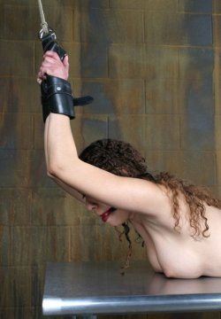 Hot Model Gets Stripped, Bound and Penetrated Hard