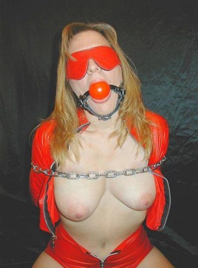 Hot Model in Boots Gets Chained and Dominated for Fun