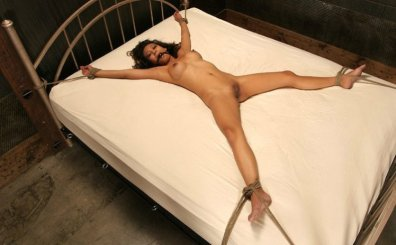 Kina Kai Spread, Penetrated and Punished in Dungeon