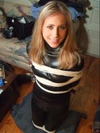 Photos of Bound and Gagged Girlfriend from Her Boyfriend's Stolen Phone