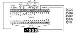 ICL7107: 3 12 Digit, LCDLED Display, AD Converters