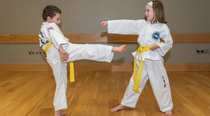 Taekwon-Kids – Our exclusive program for 6-12 year olds