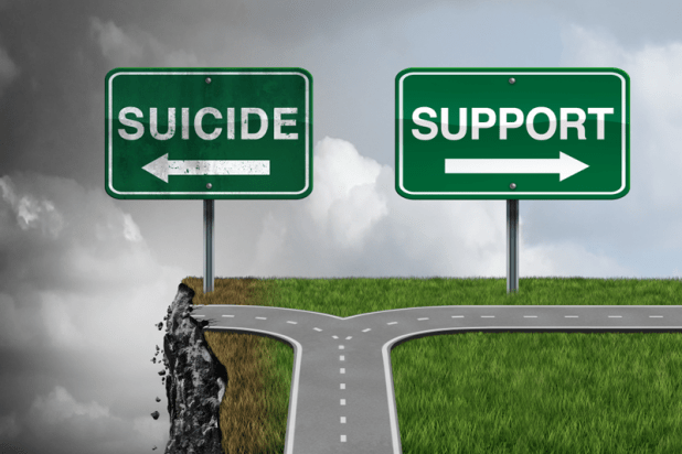 How to Fight Against Suicide, Depression, and Anxiety support map