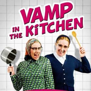 Vamp in the kitchen