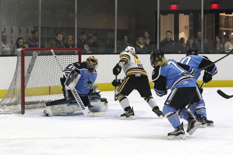 Buffalo Beauts Amanda Leveille save