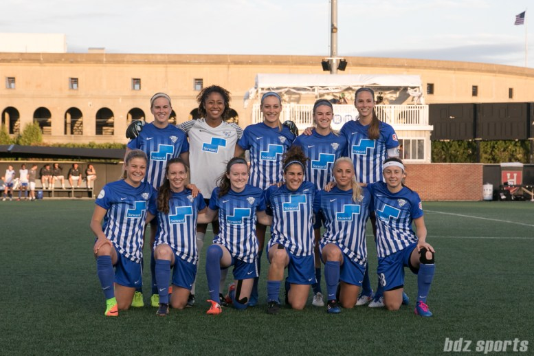 Starting eleven for the Boston Breakers.