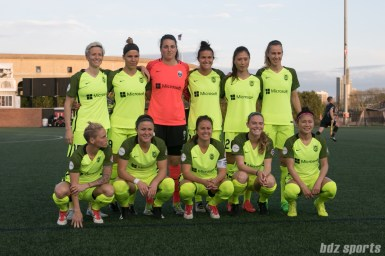 Starting eleven for the Seattle Reign.