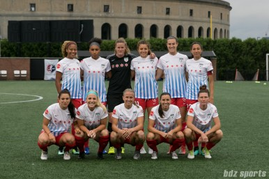 The Chicago Red Stars starting XI.
