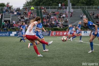 Chicago Red Stars forward Sofia Huerta (11) sends in the ball.