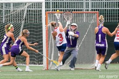 Long Island Sound attacker Christina Esposito (3) takes a shot on goal.