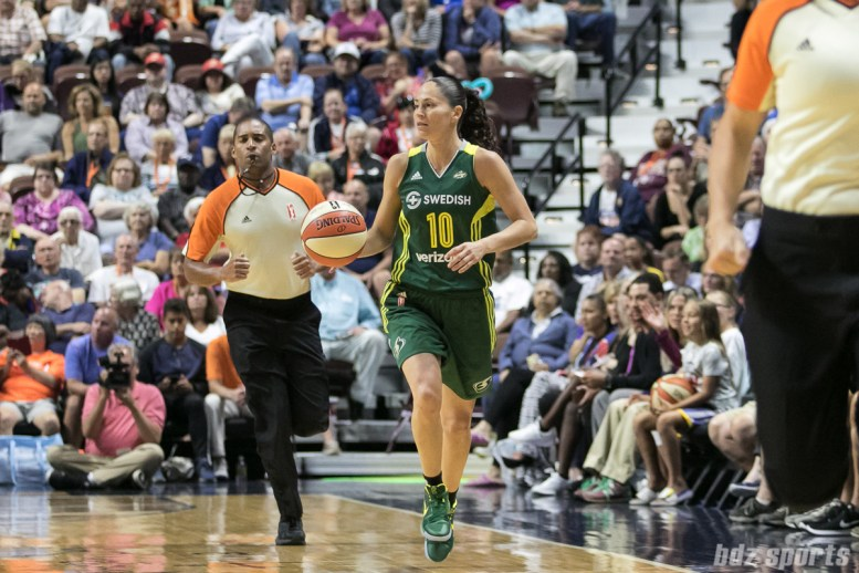 Seattle Storm guard Sue Bird (10)