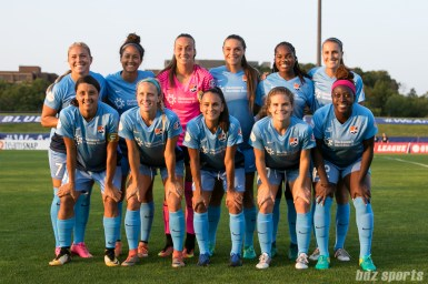 Sky Blue FC starting XI