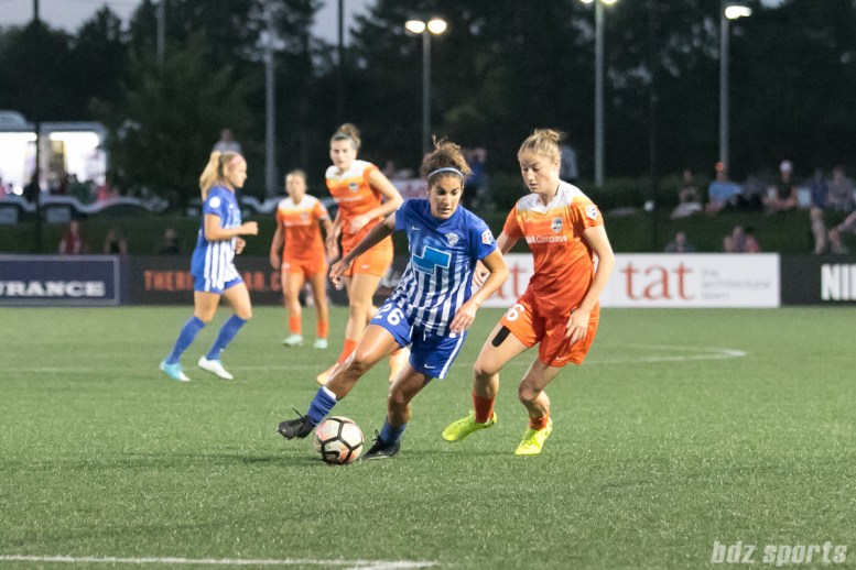 Boston Breakers midfielder Angela Salem (26)