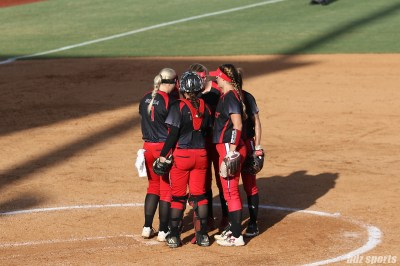 The Akron Racers infield