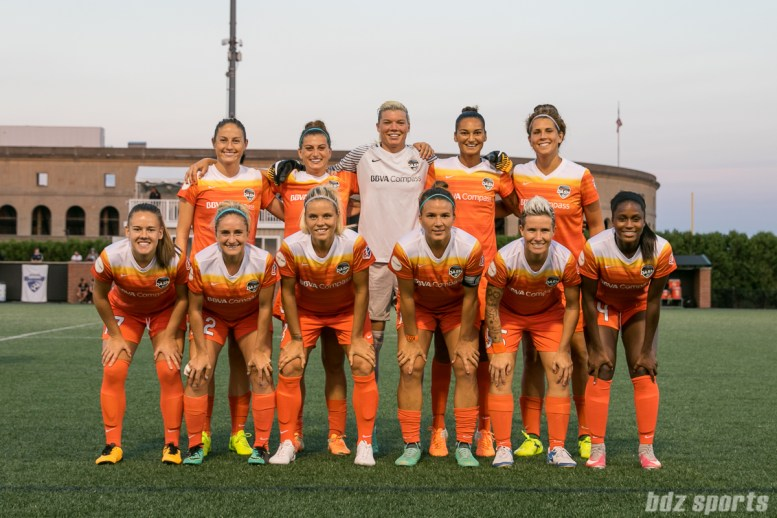 Houston Dash starting XI