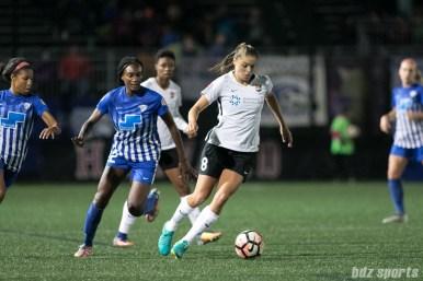 Sky Blue FC defender Erica Skroski (8)