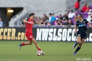 Portland Thorns FC defender Emily Menges (4)