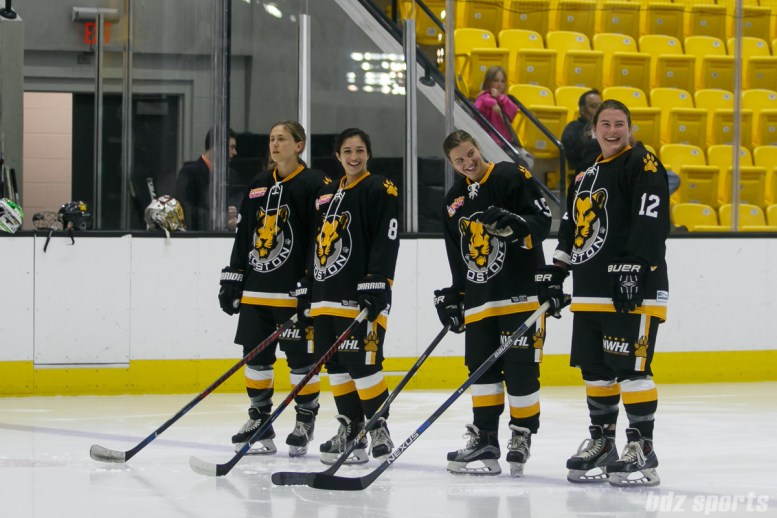 Boston Pride starting lineup announcemnets