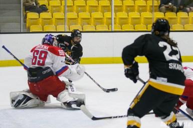 Boston Pride forward Jillian Dempsey (14) looks to take a shot on goal