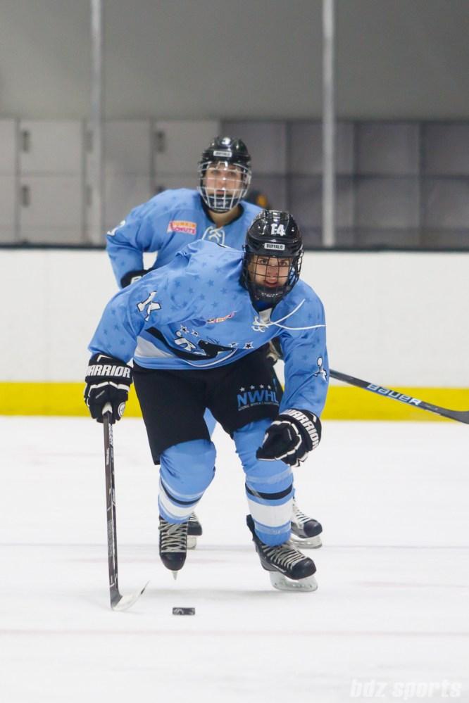 Buffalo Beauts forward Hayley Scamurra (14)