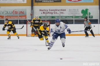 Toronto Furies defender Carlee Campbell (15) chases down the puck