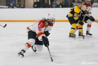 Kunlun Red Stars forward Kelli Stack (16)