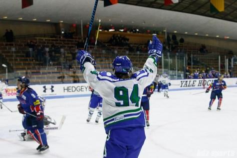 Connecticut Whale forward Grace Klienbach (94) celebrates after scoring a goal