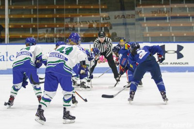 The Connecticut Whale and Team South Korea take a face off