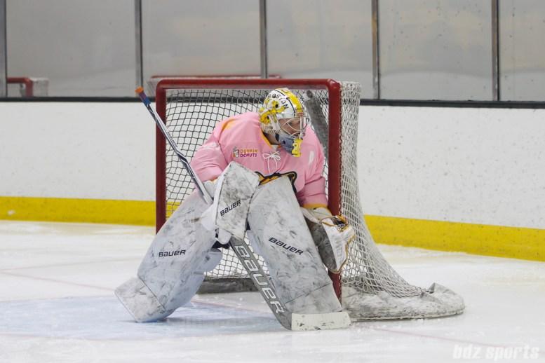 Boston Pride goalie Brittany Ott (29)