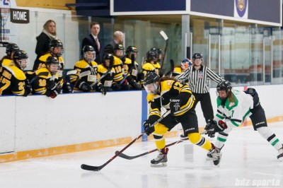 Boston Blades forward Meghan Grieves (17)