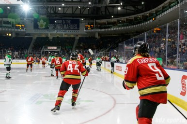 The Kunlun Red Star take to the ice