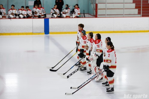 The Kunlun Red Star starting lineup