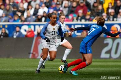 Team USA forward Mallory Pugh (11)
