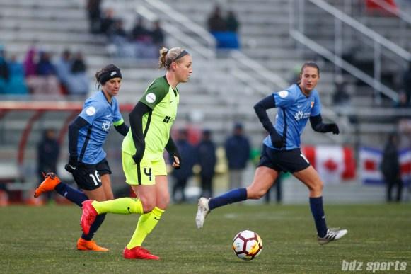 Seattle Reign FC defender Megan Oyster (4)