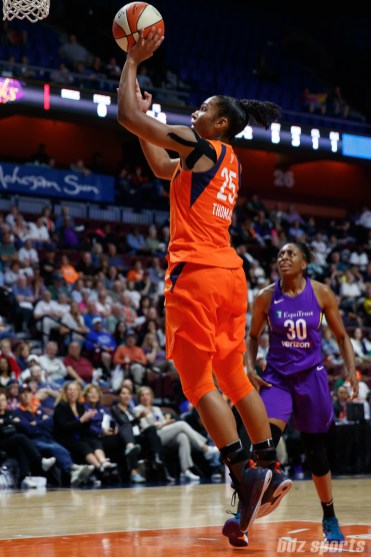 Connecticut Sun forward Alyssa Thomas (25)