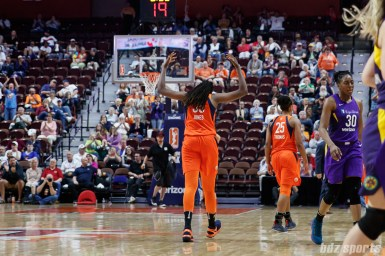 Connecticut Sun center Jonquel Jones (35)