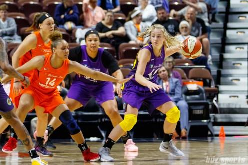 Los Angeles Sparks guard Karlie Samuelson (44)