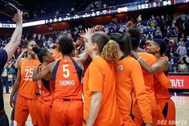 WNBA Connecticut Sun vs Los Angeles Sparks - May 24, 2018