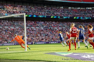 Goal scored by Vivianne Miedema