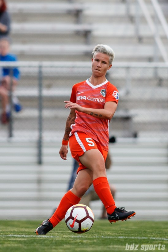 Houston Dash defender Janine Van Wyk (5)