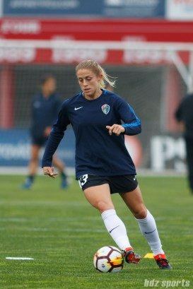 North Carolina Courage defender Abby Dahlkemper (13)