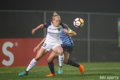 North Carolina Courage forward Kristen Hamilton (23)