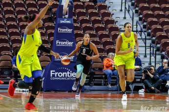 New York Liberty guard Marissa Coleman (0)