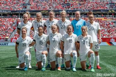 Team Germany starting XI