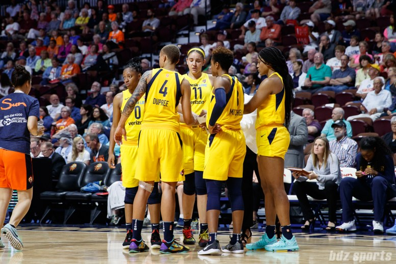 WNBA Connecticut Sun vs Indiana Fever - June 27, 2018