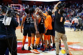 The Connecticut Sun defeat the Indiana Fever 101 - 89 at Mohegan Sun Arena on June 27, 2018
