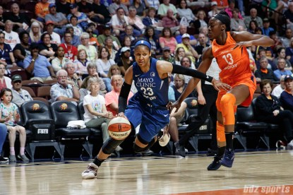 Minnesota Lynx forward Maya Moore (23)